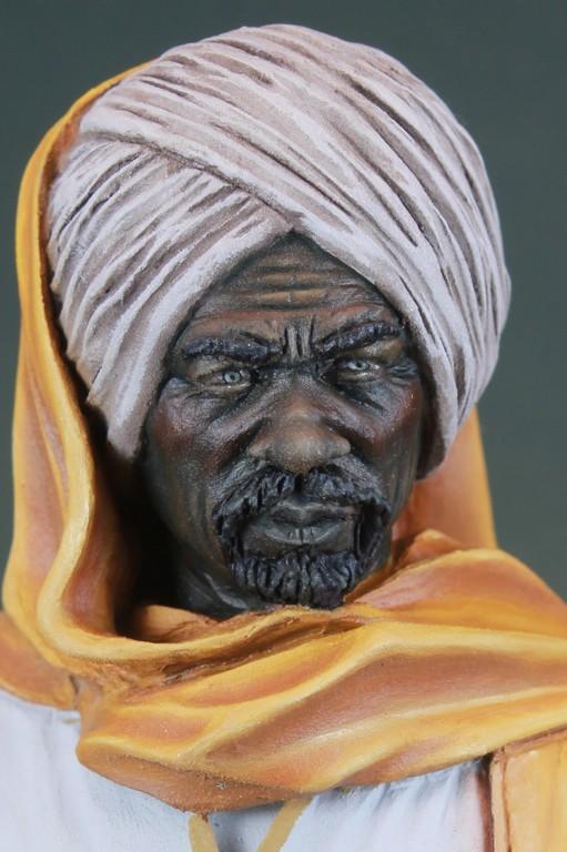garde Nubien (Soudannais ) d'après Ludwig Deutsch Img_7918
