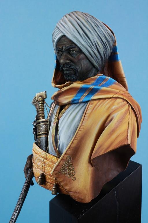 garde Nubien (Soudannais ) d'après Ludwig Deutsch Img_8010