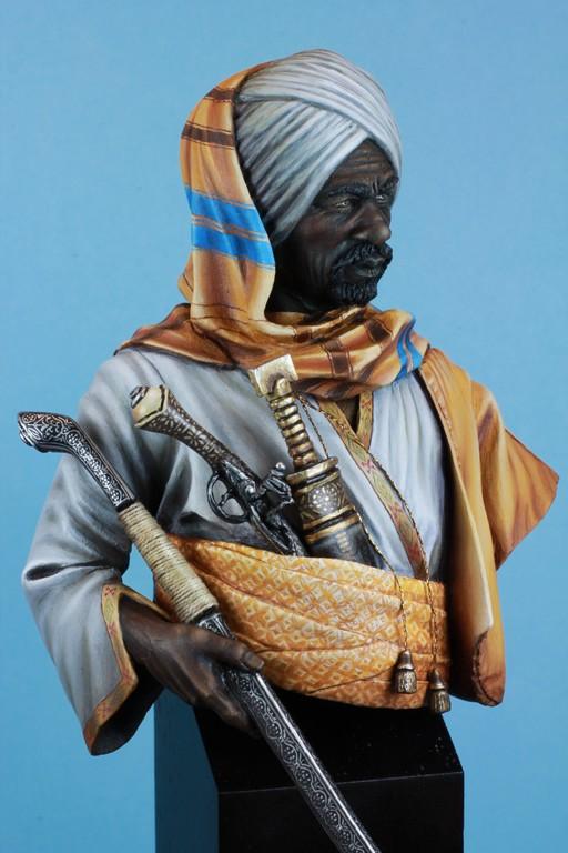 garde Nubien (Soudannais ) d'après Ludwig Deutsch Img_8011