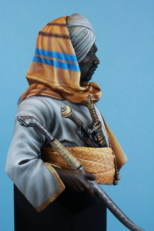 garde Nubien (Soudannais ) d'après Ludwig Deutsch Img_8012
