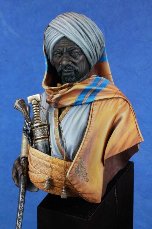 garde Nubien (Soudannais ) d'après Ludwig Deutsch Img_8014