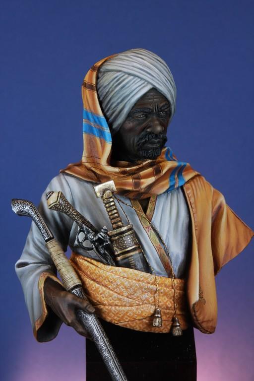garde Nubien (Soudannais ) d'après Ludwig Deutsch Img_8015
