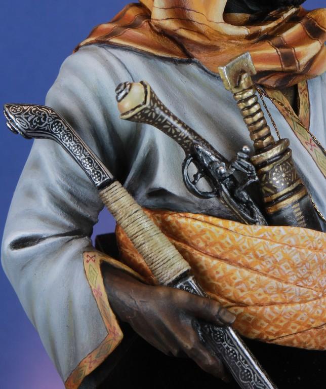 garde Nubien (Soudannais ) d'après Ludwig Deutsch Img_8016