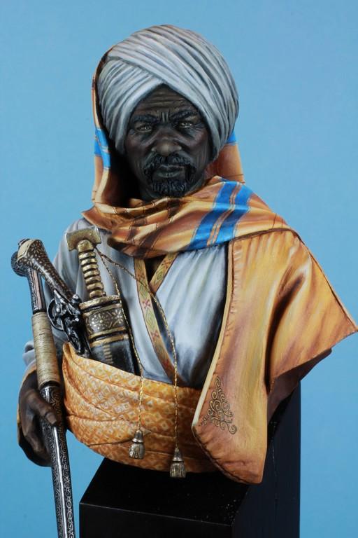 garde Nubien (Soudannais ) d'après Ludwig Deutsch Img_8017