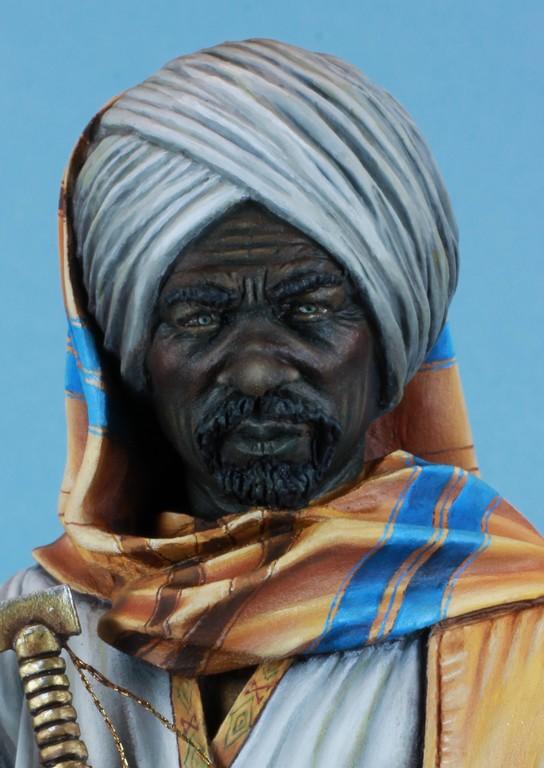garde Nubien (Soudannais ) d'après Ludwig Deutsch Img_8018