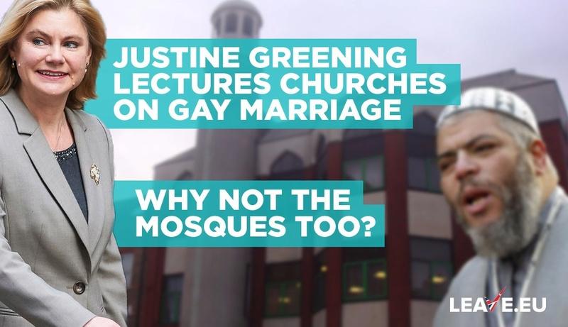 Justine Greening. Mad lezbot feminazi wants to introduce Trans-ageddon. Lectur10