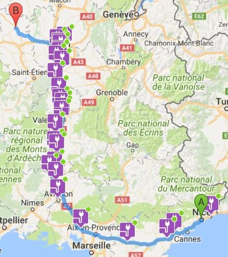 570 km avec bébé en été en Zoe type 2 2016 - Page 2 Road10