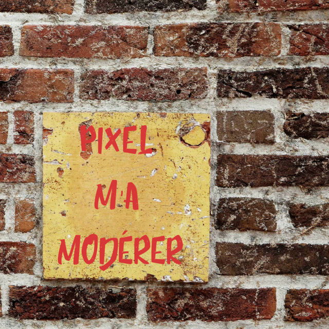 Qui sont les modérateurs ? Textgr10