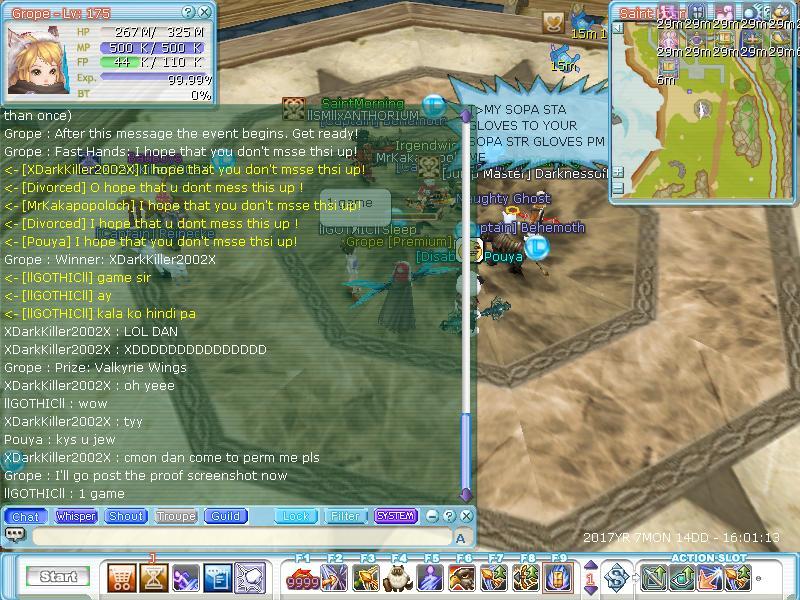 Sleep Guild Events Flyff010