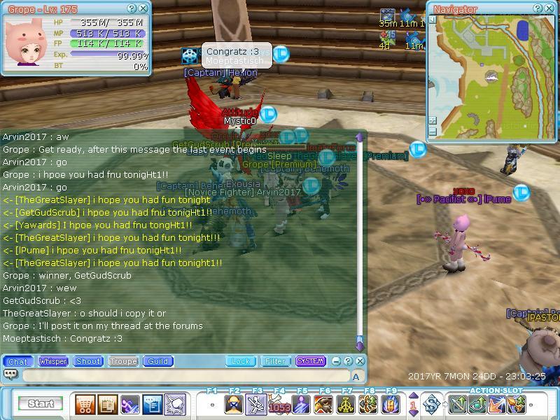 Sleep Guild Events Flyff011