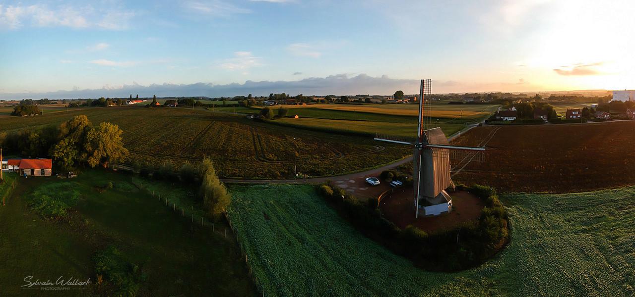 Premier test du drone Moulin10