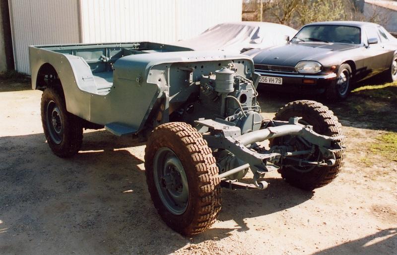 Parce que tout commence à l'échelle 1 Jeep1410