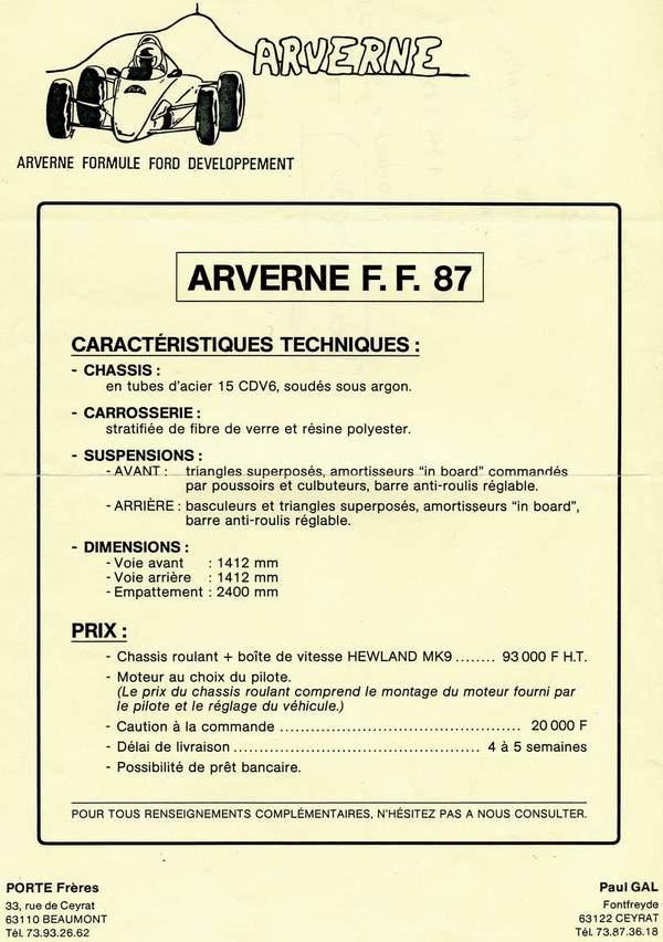 Les inclassables du FORUM - Page 2 Arvern10