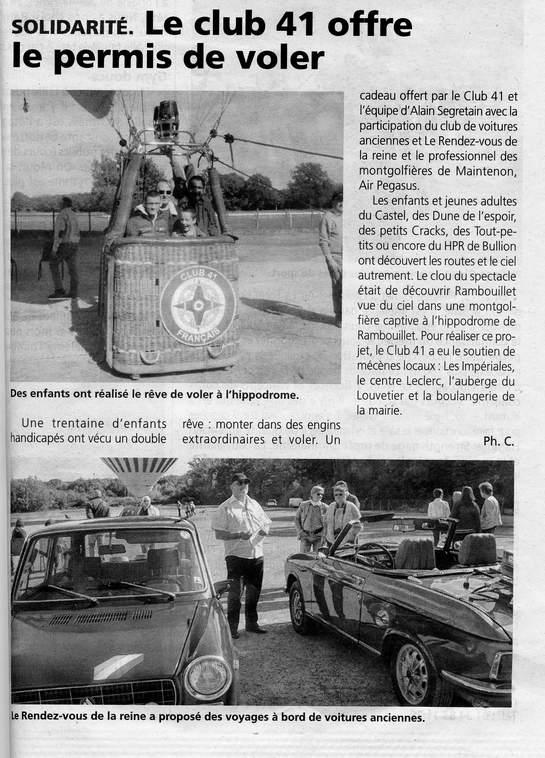 Le Rendez-Vous de la Reine dans la presse locale ou nationale - Page 3 Club_410
