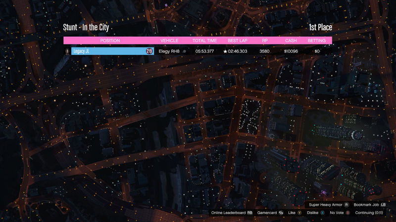 GTA Time Attack | In the City (Elegy RH8) 00000110