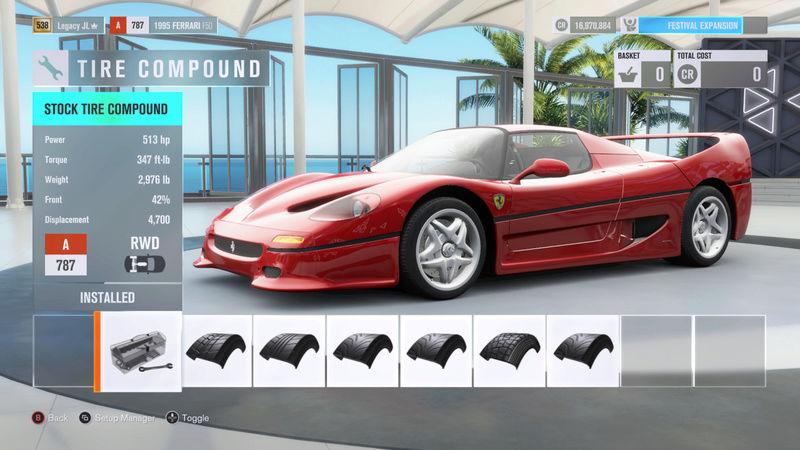 FH3 Time Attack | Stock Car Challenge #24 (1995 Ferrari F50) 000210