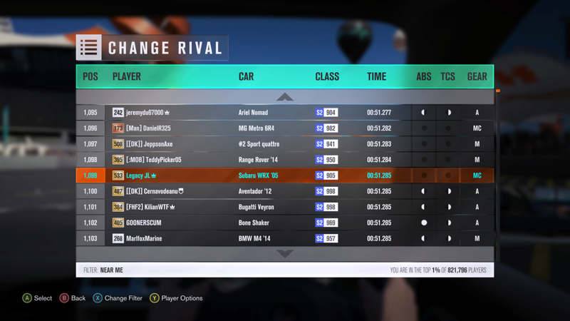 FH3 Time Attack | Cross Track Scramble - 500HP (FWD/RWD/AWD) 0_110
