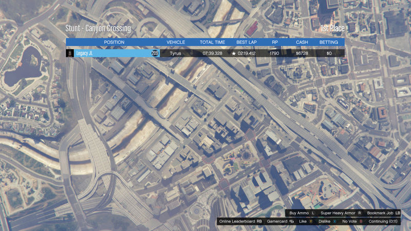 GTA 5 | Canyon Crossing (Tyrus) *RESULTS UP* 1b375610
