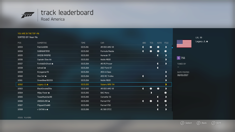 FM6 | Road America - 400HP (FWD/RWD/AWD) *RESULTS UP* 30c4ff10