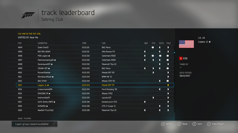 FM6   Sebring Club - 300HP (FWD/RWD ONLY) *RESULTS UP* 50260c10