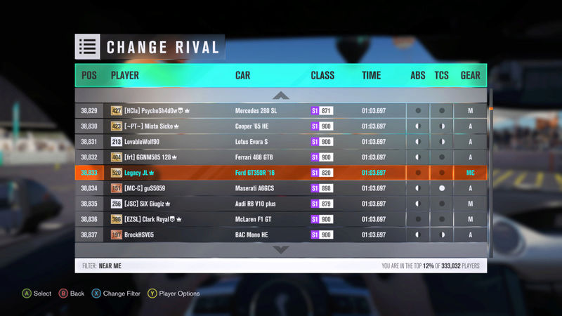 FH3 | Stock Car Challenge #16 (2016 Ford Shelby GT350R) *RESULTS UP* 83226610