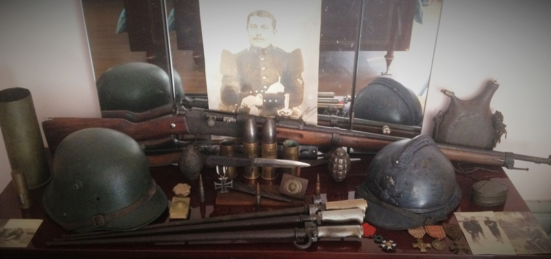 Nature morte FR/ALL WW1 et quelques photos d'objets de ma collection WW1 Img_4512