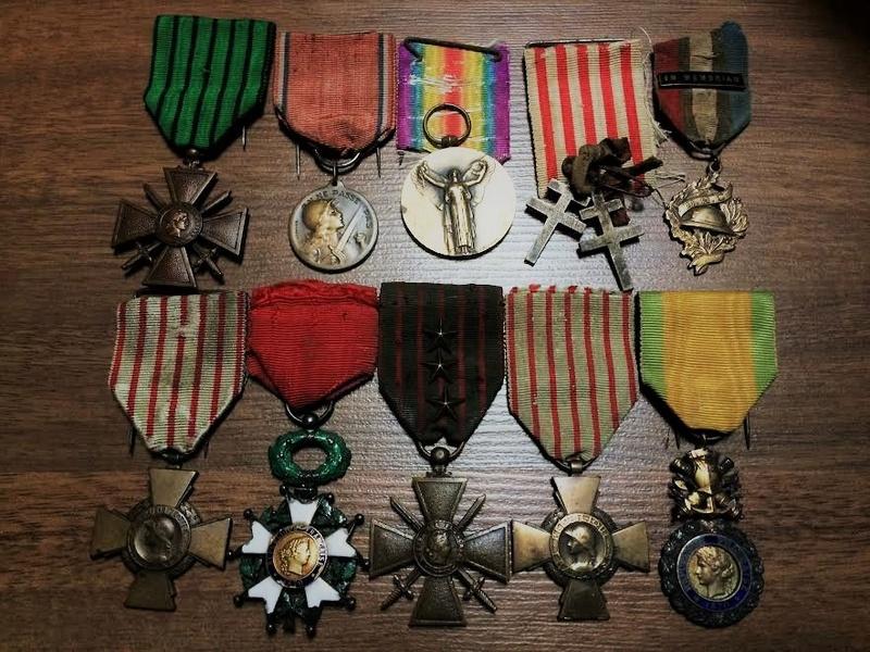 Nature morte FR/ALL WW1 et quelques photos d'objets de ma collection WW1 Mydail12