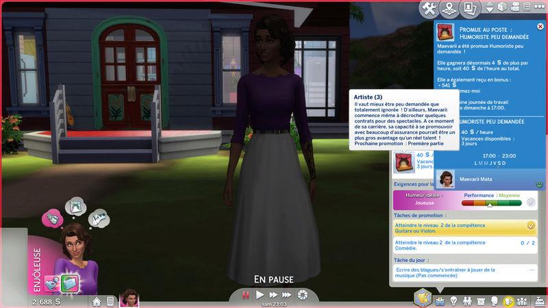 [Clos] Les défis Sims - Niveau 1 22-07-11