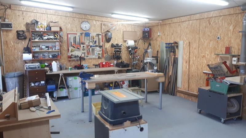 Construction d'un atelier en ossature bois ! - Le Bardage ! - Page 10 110