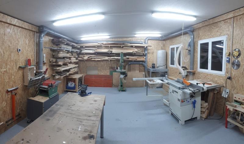 Construction d'un atelier en ossature bois ! - Le Bardage ! - Page 10 20170924