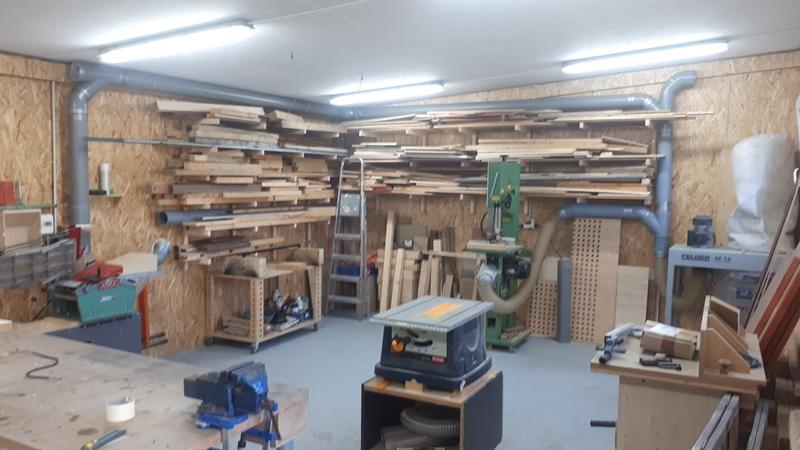 Construction d'un atelier en ossature bois ! - Le Bardage ! - Page 10 210