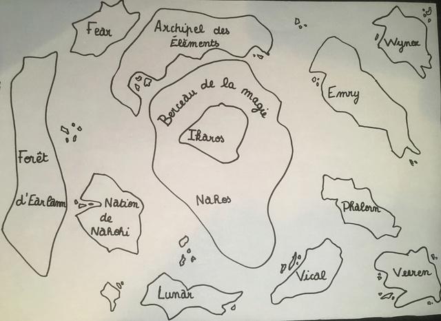 Carte du continent d'Ikaros  97138813