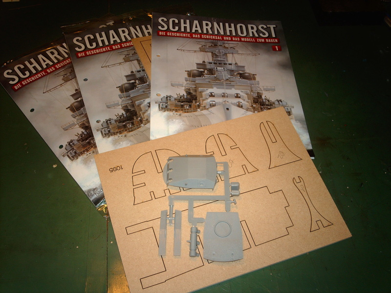 DKM Scharnhorst 1 : 200 Hachette gebaut von Maat Tom 110