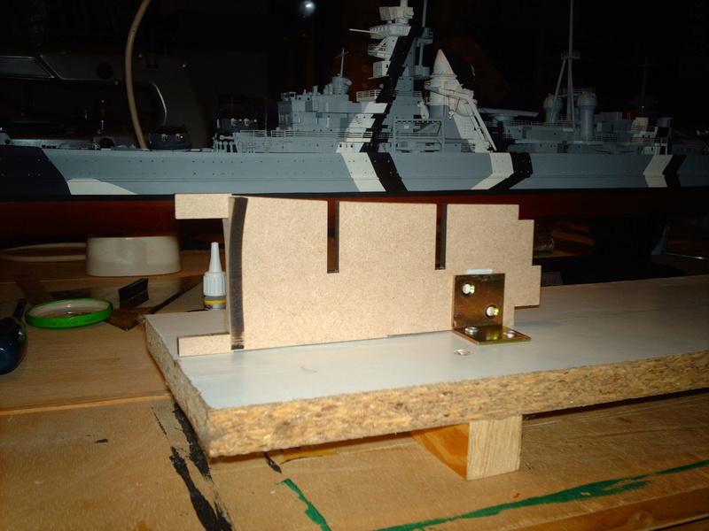 DKM Scharnhorst 1 : 200 Hachette gebaut von Maat Tom 210