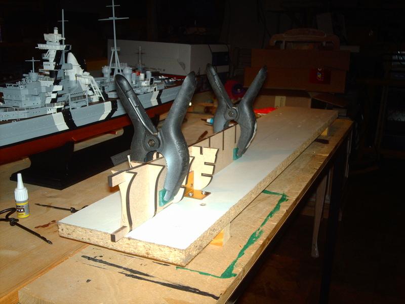DKM Scharnhorst 1 : 200 Hachette gebaut von Maat Tom 310