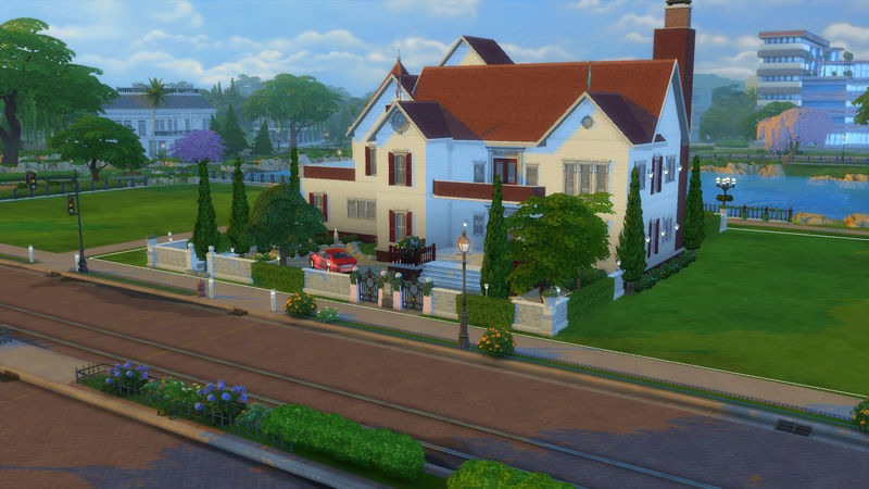 Sims4 House build 07-18-11
