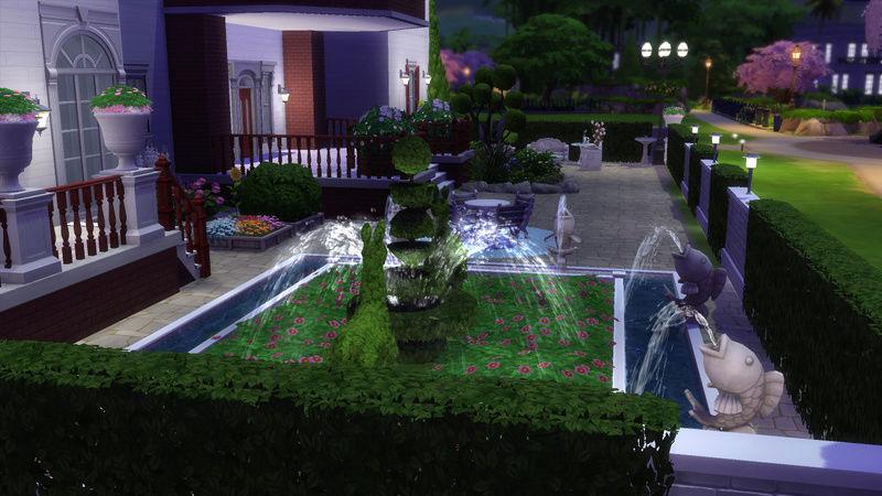 Sims4 House build 07-18-12