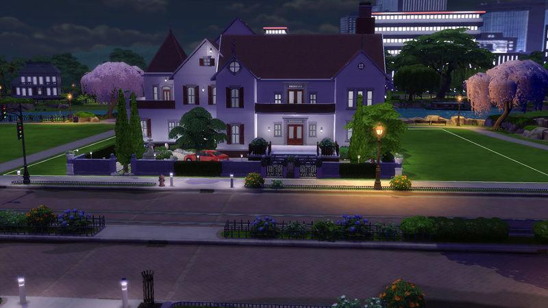Sims4 House build 07-18-13