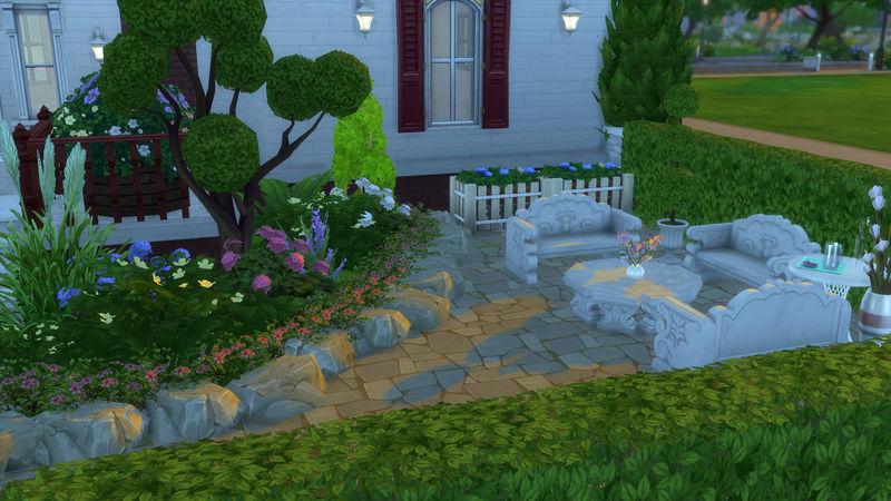 Sims4 House build 07-18-14