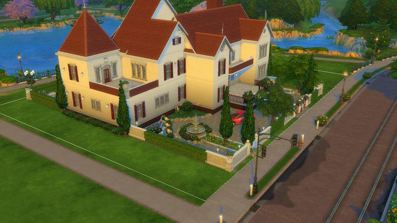 Sims4 House build 07-18-15