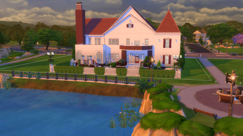 Sims4 House build 07-18-17