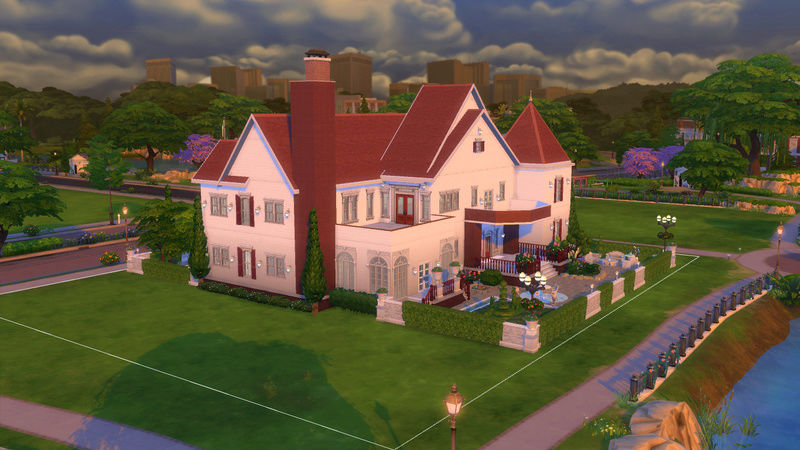 Sims4 House build 07-19-10