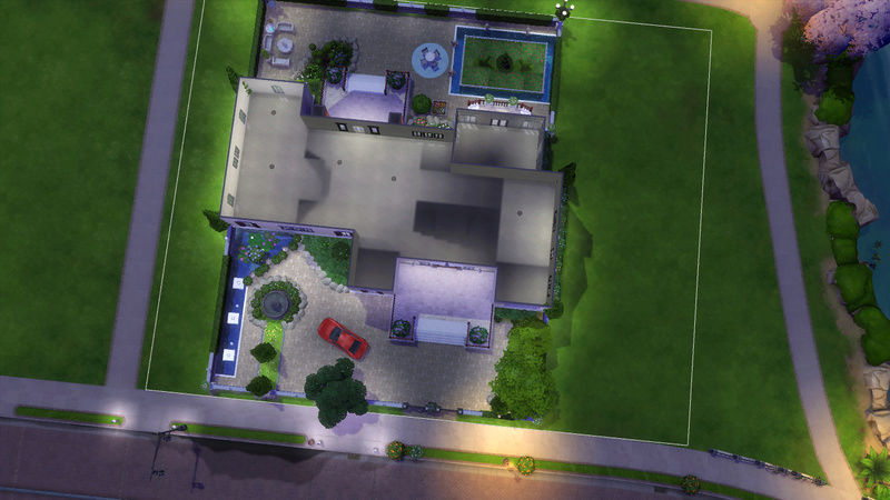 Sims4 House build 07-19-11