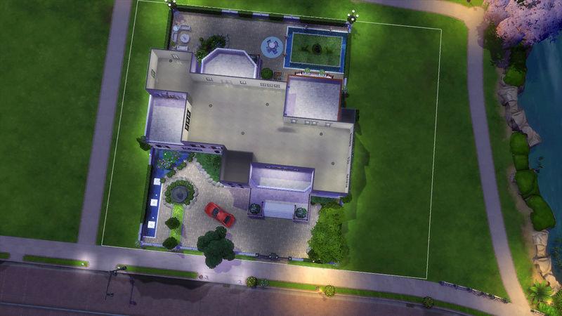 Sims4 House build 07-19-12