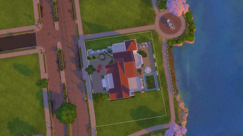 Sims4 House build 07-19-13