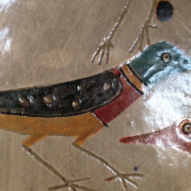 Bird plate - Jill Fanshawe Kato Img_4214