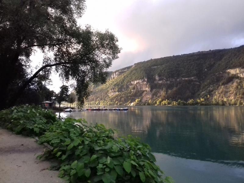 lac des saloniques  régate NANTUA 20170910