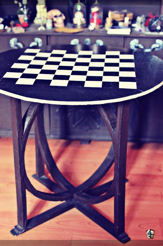 [VENTE] Grande table damier - pièce unique Dsc_9018