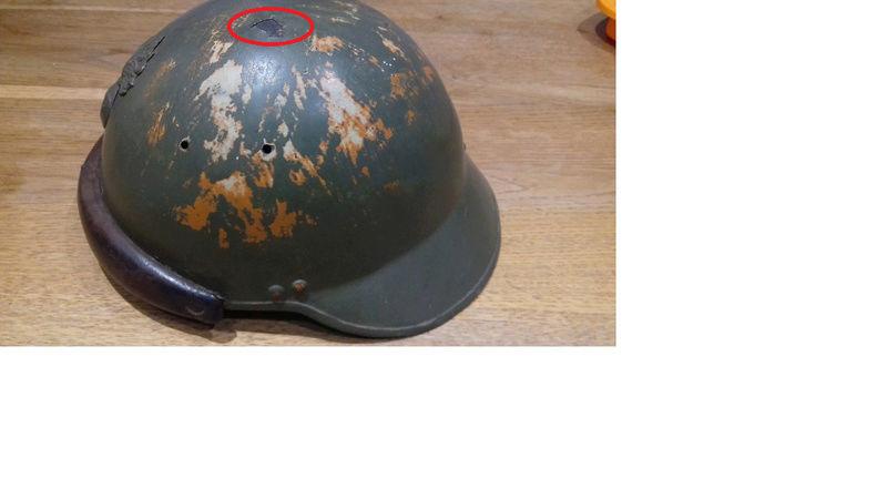 casque des troupes  motorisés françaises. Casque10
