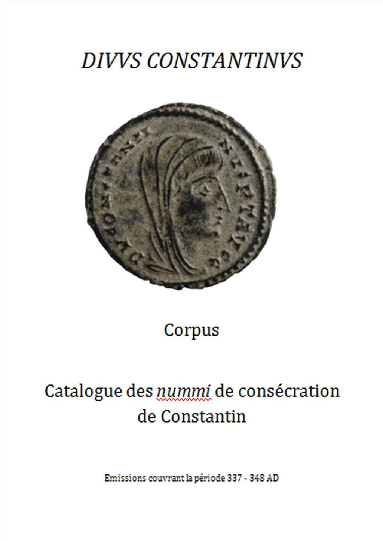 Nummi de consécration - Constantin I  - Page 16 Couv1b10